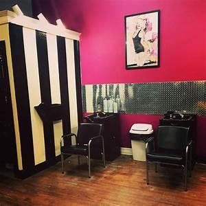 Garage Salon : 50 best images about kadillac barbies salon spa on pinterest black white stripes garage and ~ Gottalentnigeria.com Avis de Voitures