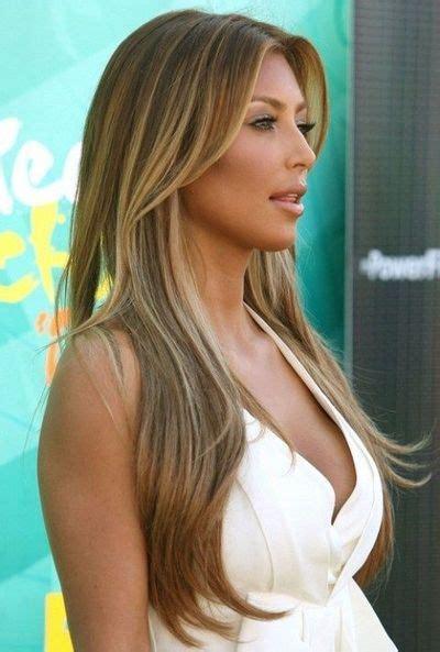 kim kardashian Brown blonde Hair Highlights 2012 / make up ...