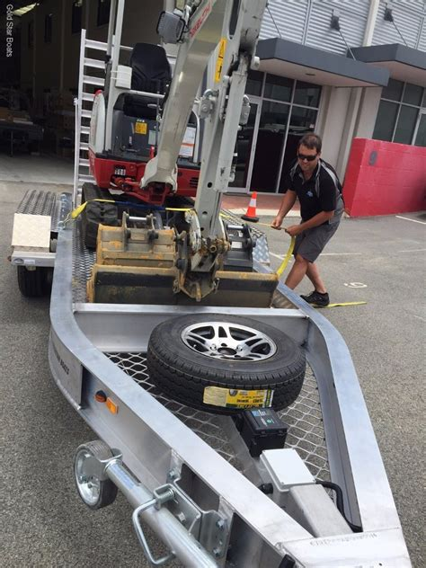 Trailer Boats For Sale Perth Wa by Goldstar Excavator Trailer For Sale Boat Accessories