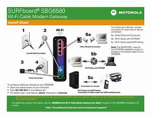 Motorola Surfboard Sbg6580 User Manual