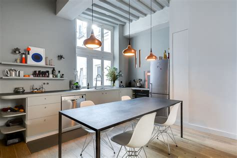 Fresh And Modern Small Apartment In The Heart Of Marais In