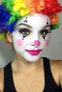 Karneval Gesicht Schminken : schminkideen frauen lustige per cke lila clown kost m clown schminke fasching schminken und ~ Frokenaadalensverden.com Haus und Dekorationen