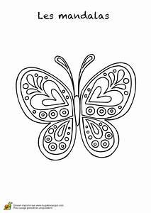 Dessin Facile Papillon : coloriage les mandalas sur hugo 03 sur ~ Melissatoandfro.com Idées de Décoration