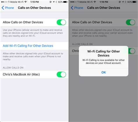 wifi calling iphone how to enable wi fi calling on your iphone