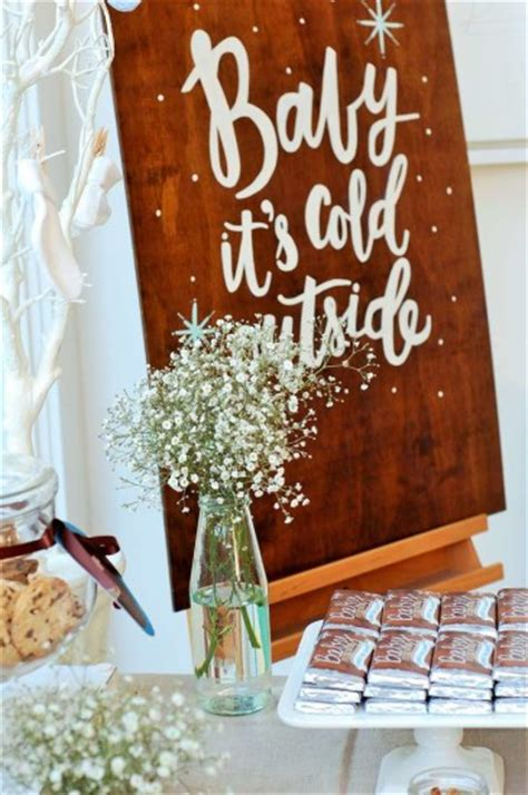 baby  cold  baby shower ideas theme