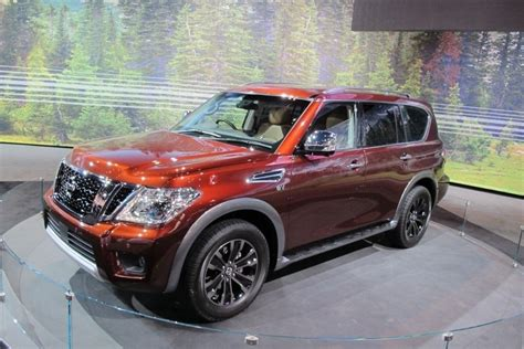 nissan armada redesign price release date