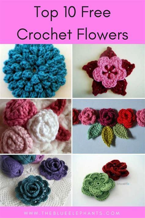 Best 20+ Crocheted Flowers Ideas On Pinterest