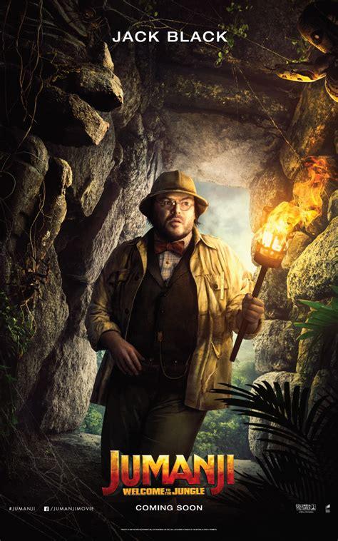 affiche du film jumanji bienvenue dans la jungle