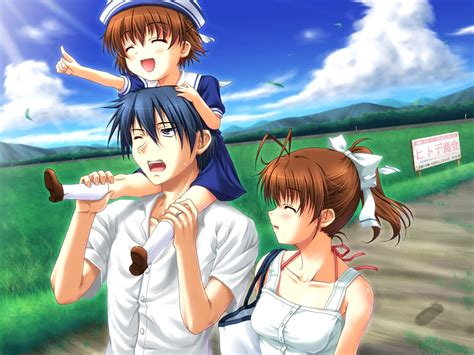 Anime Family Wallpaper - clannad after story taringa