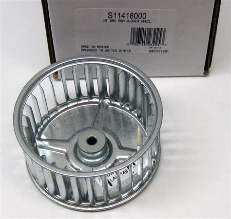 squirrel cage fans for sale s11418000 broan nutone blower wheel 3 3 4 quot x 2 quot x 1 4