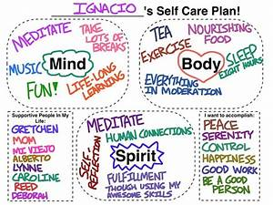 tools social work tech With self care plan template