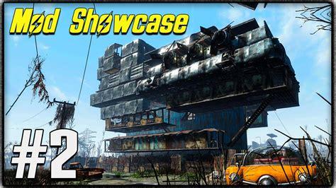 Fallout 4 Mod Showcase #2  Best Settlement Mods! Trees