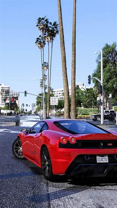 Gta Ferrari 4k Ultra Mobile Wallpapers Pc