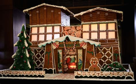 'grand' New Gingerbread House On Display At Disney's Grand