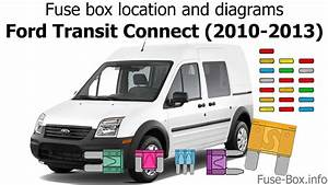 Fuse Box Location And Diagrams  Ford Transit Connect  2010