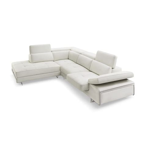 31234 save on furniture creative gio top grain leather sectional sofa by creative furniture