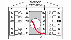 Wiring Diagram For Honeywell Heat Pump Thermostat
