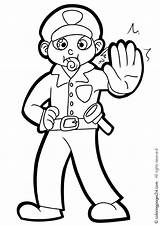 Police Coloring Pages Print Policeman Printable Officer Uniform Drawing Enforcement Law Stop Ferrari Getcolorings Colouring Printables Getdrawings Getcoloringpages Outline Awesome sketch template