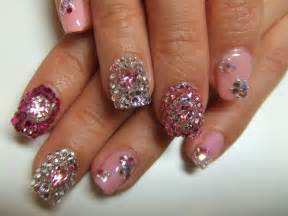 Rhinestone nail designs nailspedia