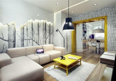 Wandgestaltung Tapete Wohnzimmer by Wandgestaltung Im Wohnzimmer 85 Ideen Und Beispiele