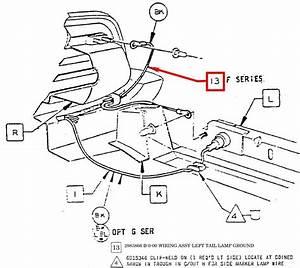 1970 Cuda Tail Light Wiring Harness