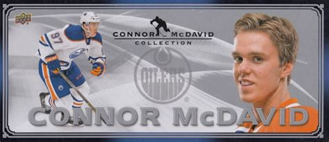 upper deck connor mcdavid collection hockey