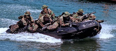 Zodiac Boat Training by Combat Rubber Raiding Craft Crrc