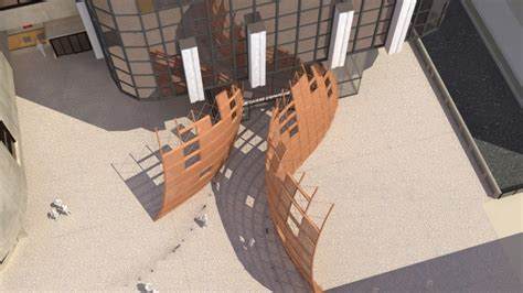 siege caisse d epargne sculpture monumentale parvis tour siège caisse d 39 epargne à