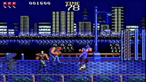 Ninja Gaiden Sega Genesis Beta Youtube
