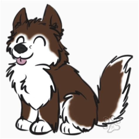 cute cartoon drawings  dogs