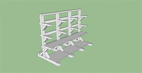 stand  wood rack  shelves design