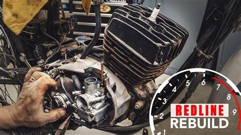 Two Stroke Engine Rebuild Time Lapse Kawasaki