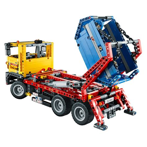 technic truck technic container truck 42024 60 00 hamleys for