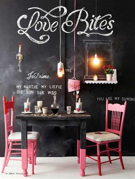 chalkboard room decor 22 chalkboard paint ideas allow you to personalize wall decor