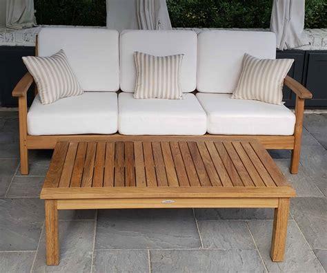 buy atlantic teak outdoor sofas factory direct pricing