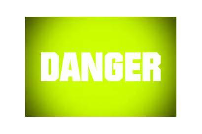 Blinking Yellow Warning Animated