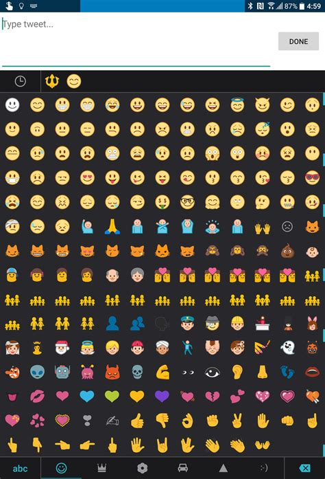 frowny emoji on android is a crapshoot and it has to