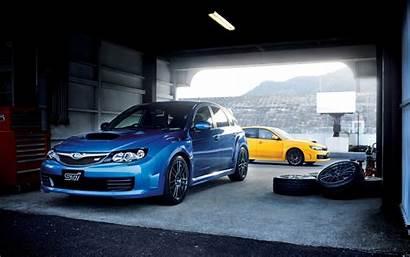 Subaru Wrx Sti Wallpapers Yellow
