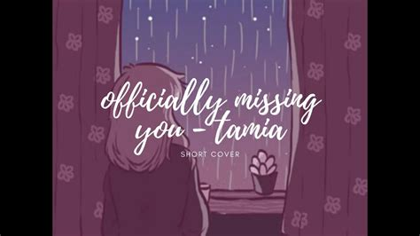 officially missing you - tamia (cover by Rhena Mengote ...