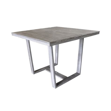 courtyard casual bay side collection teak outdoor square