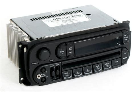 chrysler   sebring radio  fm cd upgraded ipod aux input rbk slider  factory radio