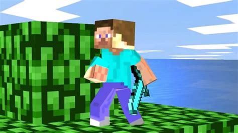steve minecraft en super smash bros youtube
