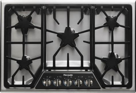 thermador gas cooktop sgsx305fs thermador 30 quot masterpiece gas cooktop 5