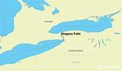 Where is Niagara Falls, ON? / Niagara Falls, Ontario Map ...