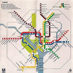"Historical Map: ""Opening Day"" Washington, DC Metro ..."