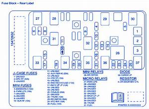 Chevrolet Malibu Ls 2005 Fuse Box  Block Circuit Breaker Diagram