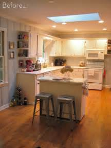 kitchen island ideas for a small kitchen before after a diy kitchen island makeover curbly diy design decor