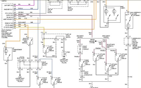 Chevy Tahoe Light Wiring Diagram by Chevy Interior Light Module Billingsblessingbags Org