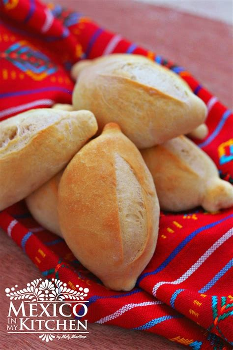 Mexico In My Kitchen Mexican Bolillos Crusty Rolls