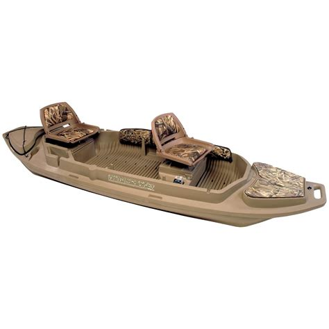 Top Rated Duck Hunting Boats by Beavertail Stealth 2000 Sneak Boat 581608 Waterfowl